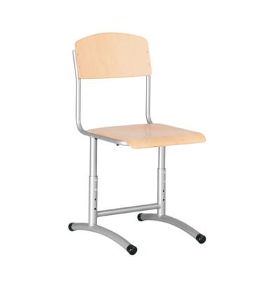 Ученически стол E- 273 Tina Up сива